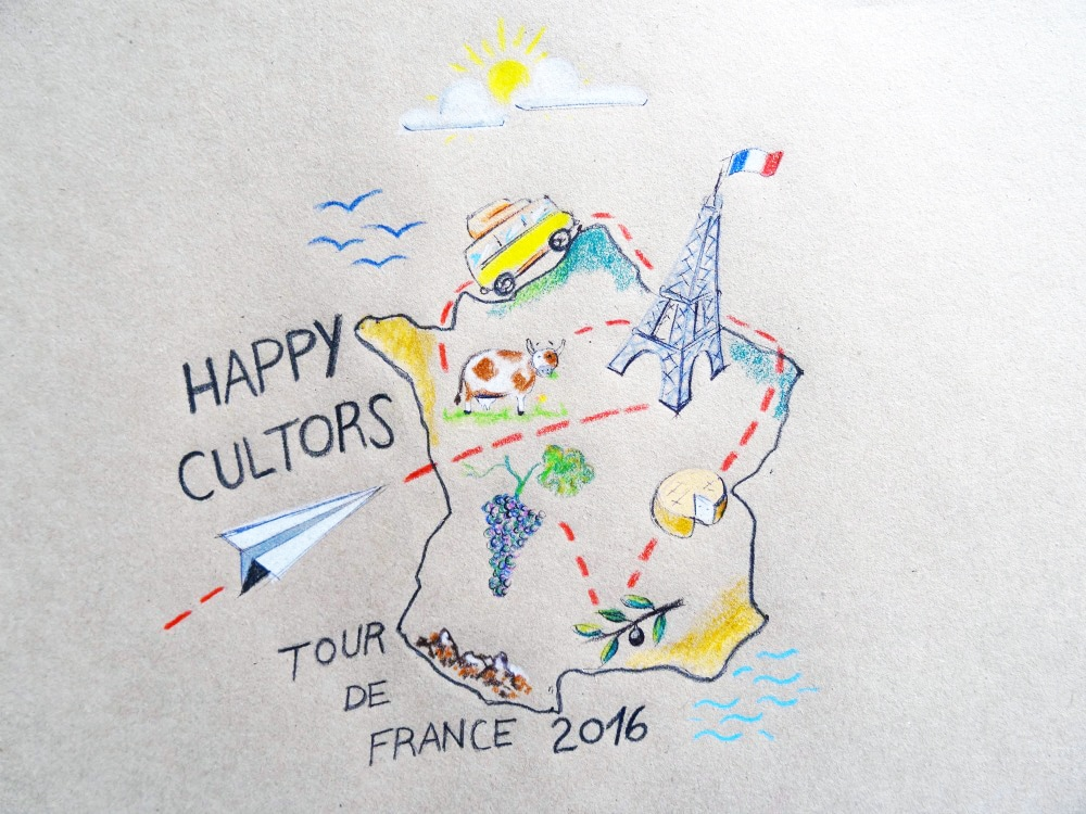 Le tour de France d'Happycultor