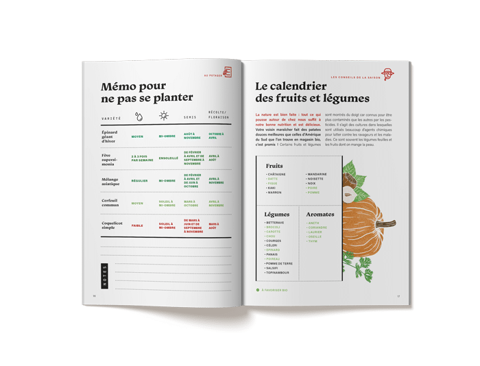 calendrier jardinage la box a planter