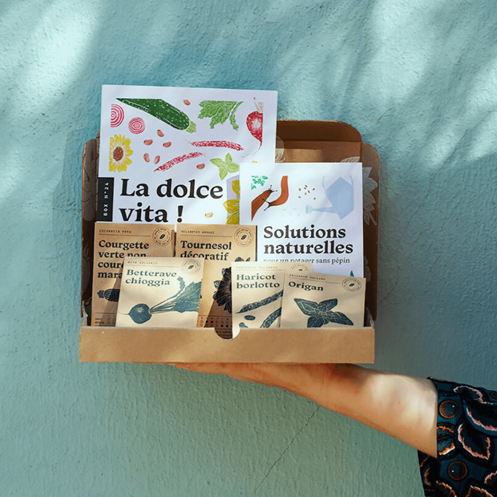 dolce vita box jardinage printemps la box à planter